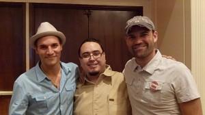 Con Jonathan Budd y Mark Hoverson