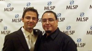 Chema Barboza con Norbert Orlewicz MLSP co founder