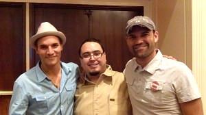 Jonathan Budd, Chema Barboza y Mark Hoverson